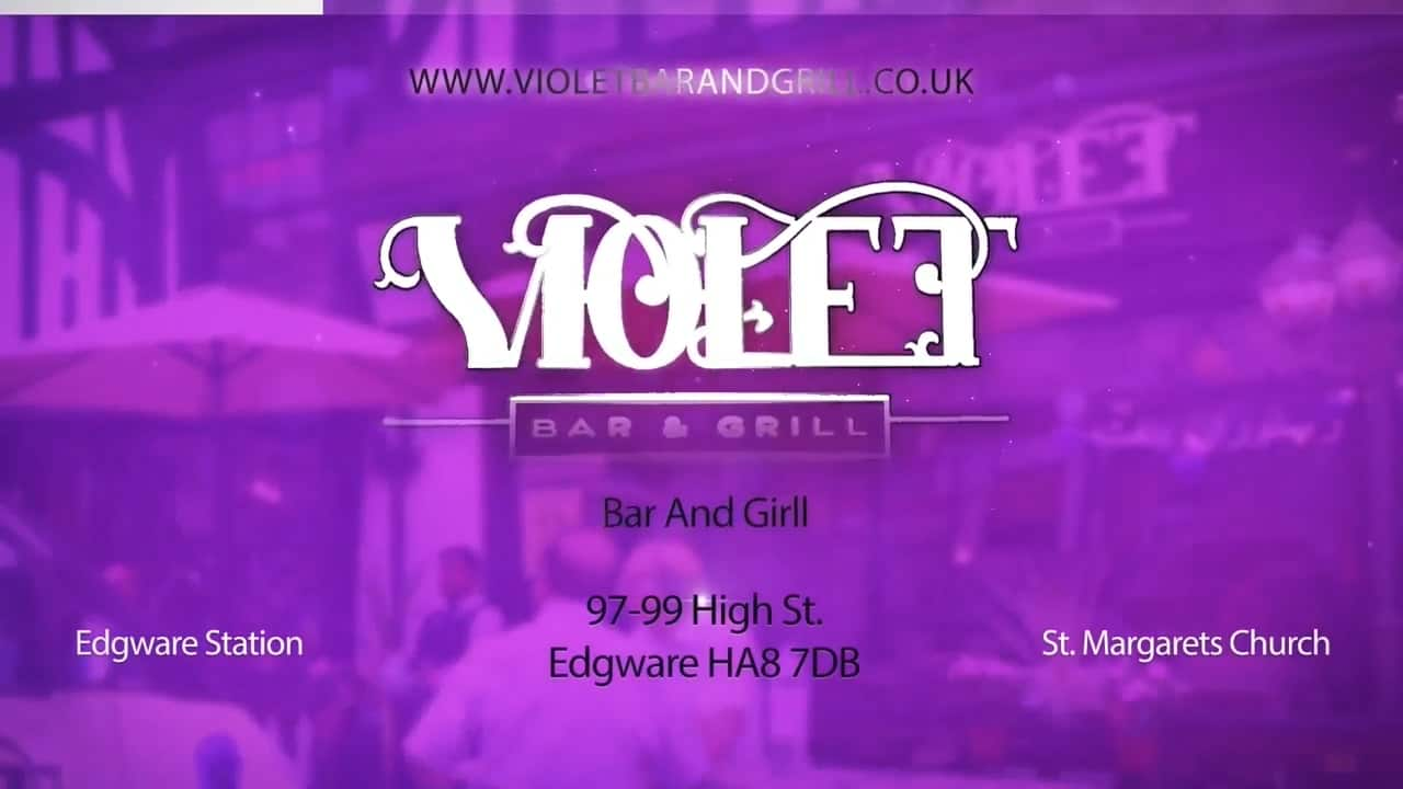 Violet Bar & Grill - Presentation Video
